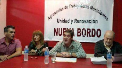 Paritaria municipal: la lista Bordó propone medidas de fuerza