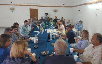 Con la incorporación de Passaglia se reunieron intendentes de Cambiemos de la Segunda Sección