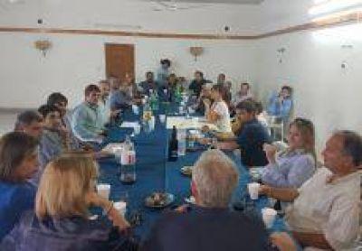 Salazar participó en la reunión de Cambiemos en Capitán Sarmiento
