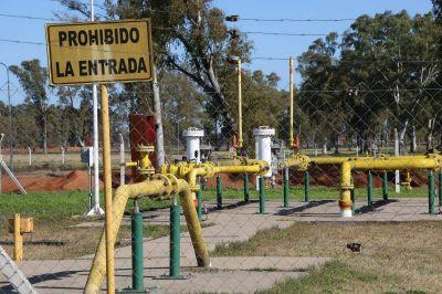 La presión del gas natural de red  mejoraría con una nueva estación de rebaje