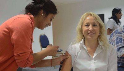 La vacunación antigripal en Salta supera la media nacional