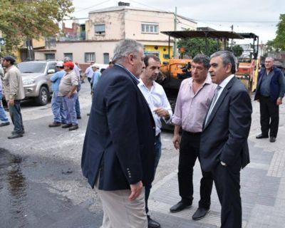 Hubo caos vehicular en la zona de la Plazoleta Mitre a causa de una actividad que desplegó Alfaro