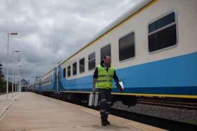 """Personal ferroviario aseguró que los durmientes """"están bien"""""""