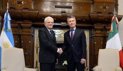 Macri y Mattarella hablaron de