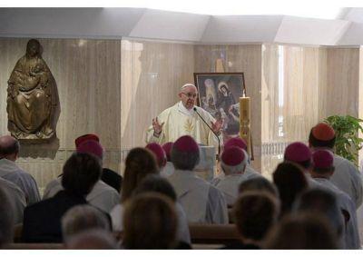 Homilía del Papa: Docilidad al Espíritu Santo para tener bondad