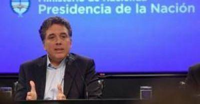 Dujovne afirmó que en dos años Argentina tendrá una inflación de un dígito