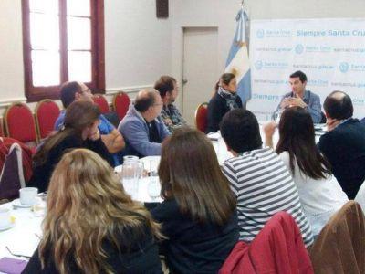 Reunión con referentes de laboratorios de la provincia