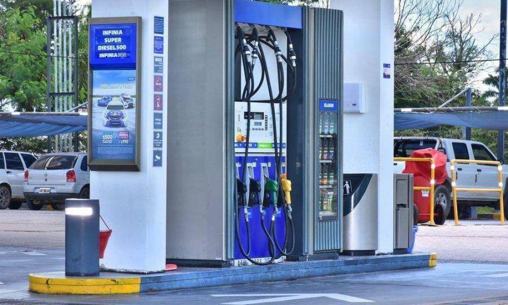 Combustibles: la baja del valor en Clorinda perjudica a otras estaciones de la provincia