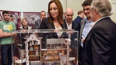 Vidal y Rodríguez Larreta visitaron el Centro Ana Frank