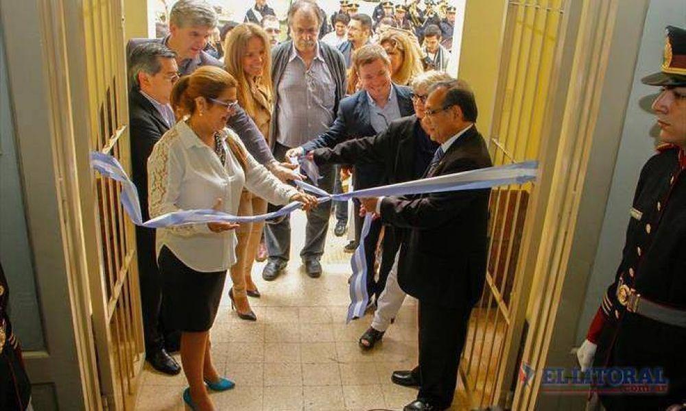 Inauguraron obras y equipamiento en los hospitales Llano y San Francisco de Asís