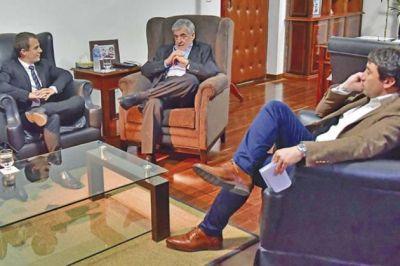 Das Neves recibió a grupo empresarial dedicado a la generación de energía