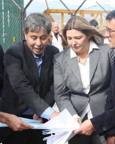 Comenzó la obra de ampliación del muelle comercial de Ushuaia