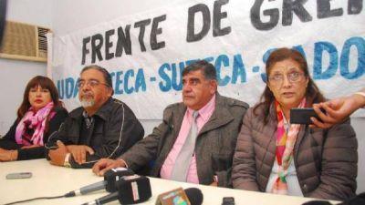 La intersindical docente defendió las negociaciones paritarias