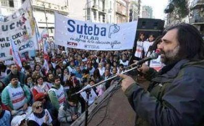 Elecciones en SUTEBA: el oficialismo de la región respalda a Baradel y busca sostener su bastión de poder