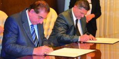 El STJ y la comuna capitalina firmaron un acuerdo de cooperación