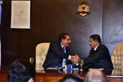 El intendente Jofré firmó Convenio de Colaboración con el Superior Tribunal de Justicia