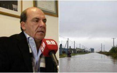 Inundaciones: Moccero insiste con la declaración de emergencia en General Villegas