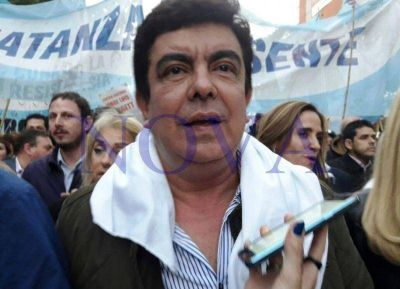 El PJ bonaerense participó de la marcha contra el 2x1 a genocidas