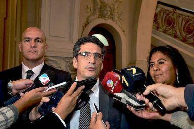 El grupo de trabajo con autoridades políticas y judiciales de Jujuy