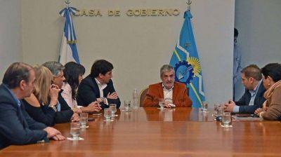 Das Neves y diputados del FpV empezaron a darle forma al Fondo de Reconstrucción