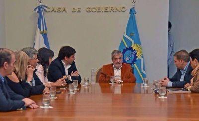 Das Neves recibió a diputados del FPV