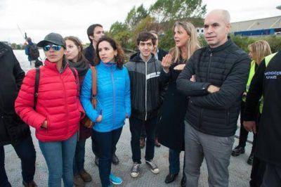 ACUMAR y el Gobierno de la Ciudad impulsan la navegación de vecinos sobre el Riachuelo