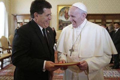 Cartes y el Papa se reunirán hoy por quinta vez
