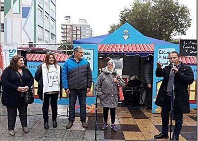 Con actividades culturales y clases públicas la escuela itinerante desembarcó en Mar del Plata