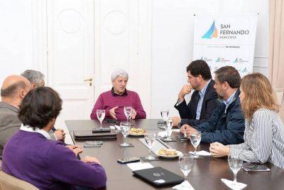 Andreotti y Burzaco sostuvieron un encuentro de trabajo