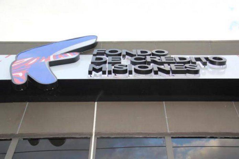 Fondo de Crédito de Misiones: Entregaron créditos a más de 30 emprendedores