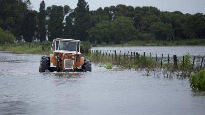 Inundaciones: productores se suman al reclamo de los intendentes