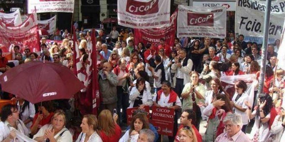 """Médicos bonaerenses advierten lentitud en las negociaciones y harán """"Caravana en defensa de la Salud Pública"""""""