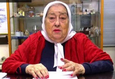 """Hebe de Bonafini: """"Gracias Macri por darme este honor de ser procesada"""""""