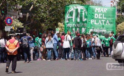 Paro y movilización de ATE: piden la reapertura de las paritarias