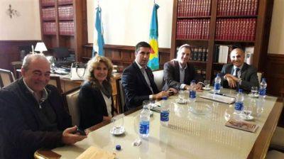 Erreca se reunió con Mosca y Salvador