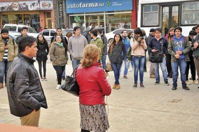 Estudiantes reclamaron por el funcionamiento del TEG