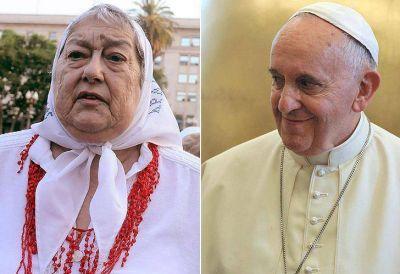 Hebe de Bonafini recibió una carta del Papa Francisco