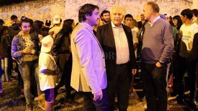 Lifschitz inauguró la iluminación en Nueva Pompeya