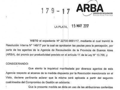 ARBA: Renunció el subdirector de Administración por los descuentos al incentivo