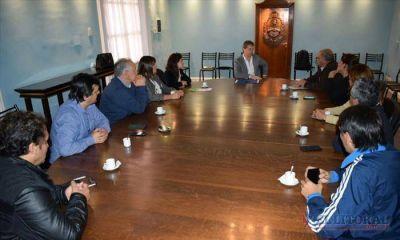 San Luis: autoridades locales se reunirían con Colombi por más asistencia y obras