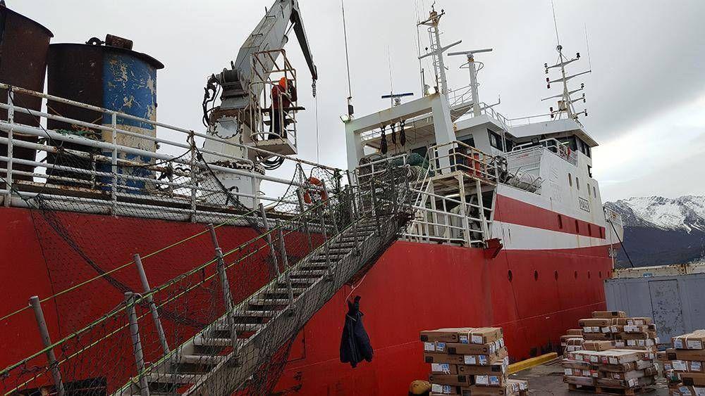 Sigue en caída la actividad pesquera en el puerto de Ushuaia