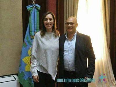 """Reino calificó de """"muy positiva"""" la reunión con Vidal"""