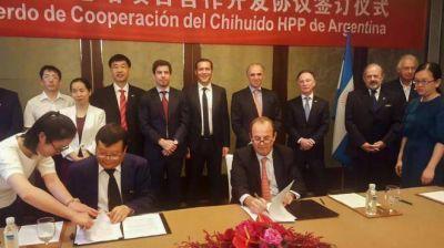 Primer paso con China para Chihuido I