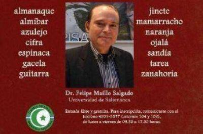 Arabista de la Universidad de Salamanca en el CIRA