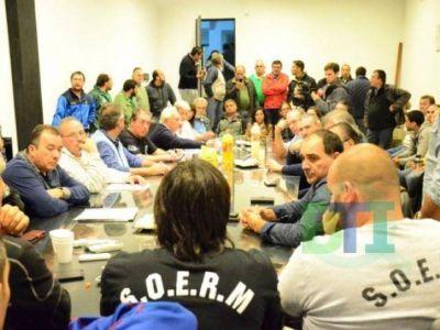 Diputados del FpV se reunieron con la Mesa Sindical y los trabajadores