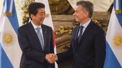 Mauricio Macri se reúne con el primer ministro Shinzo Abe