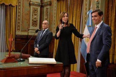 Vidal completó su Gabinete: hoy juró el nuevo Ministro de Producción bonaerense, Javier Tizado