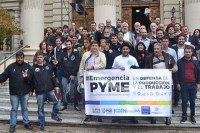 Ante la crisis del sector, legisladores bonaerenses buscan declarar la Emergencia PYME en la Provincia