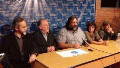 Suteba La Plata: ganó el sector de Baradel pero el oficialismo impugnó la elección