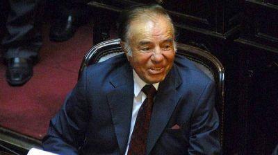 Carlos Menem confirmó que será candidato a senador por La Rioja: